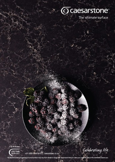 Caesarstone magazine advertising