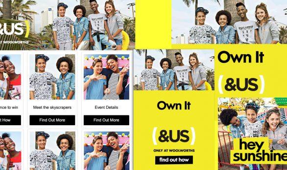 Woolworths graphic designer